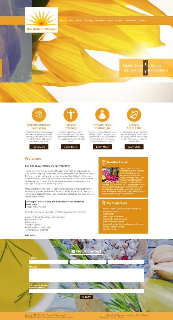 wellness, website launch