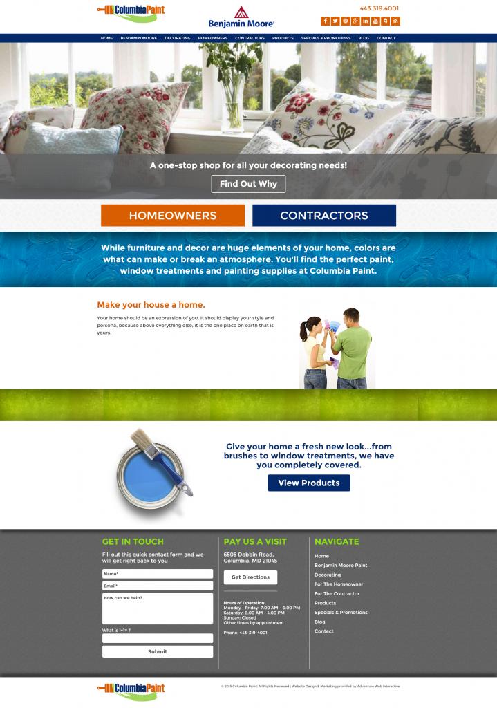 ColumbiaPaint.com