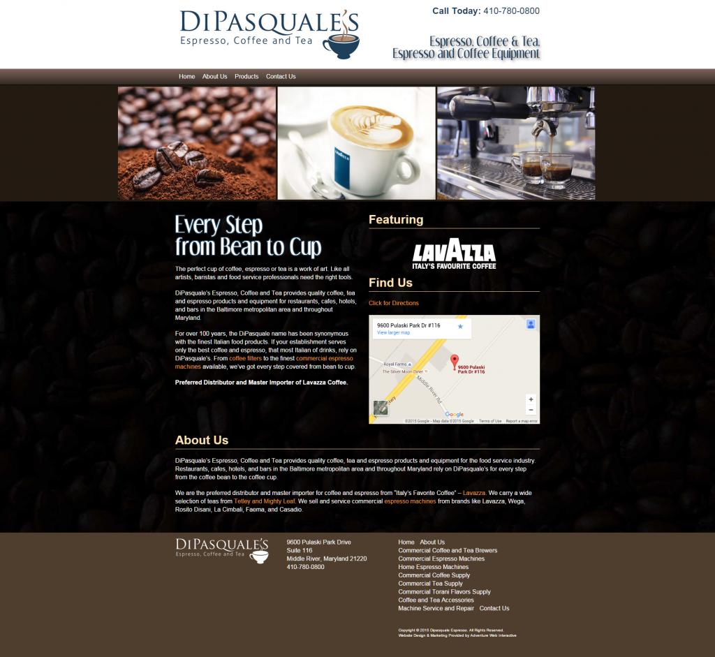 http://www.dipasquale-espresso.com/