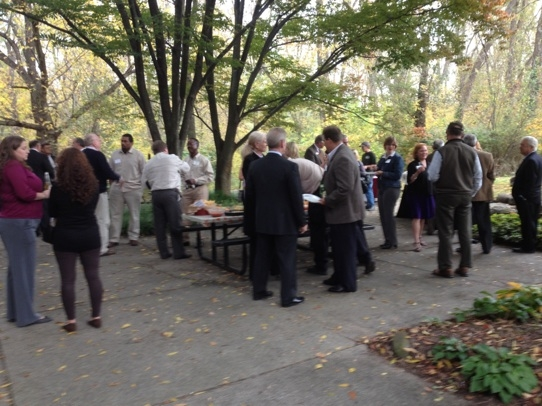 Over 80 attendees enjoyed 18 Visions Design Fall Open House.