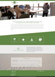 The Research Group Website Redesign