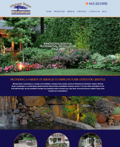 New Website Launch: Michael Bryan Landscapes