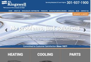 New Website Launch: William E. Kingswell, Inc.