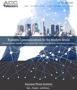 New Website Redesign: ACC Telecom