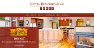 Website Launch: John K. Eareckson & Co.